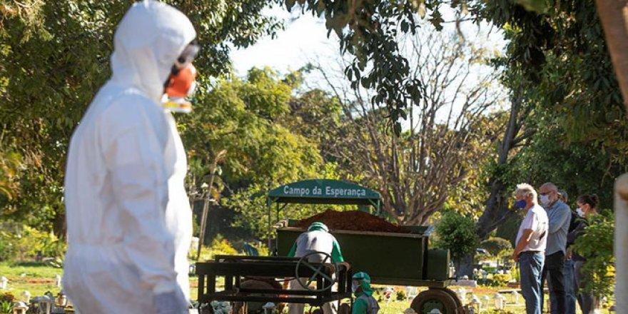 Brezilya dünyada ölüm sayısında 4. sıraya yükseldi