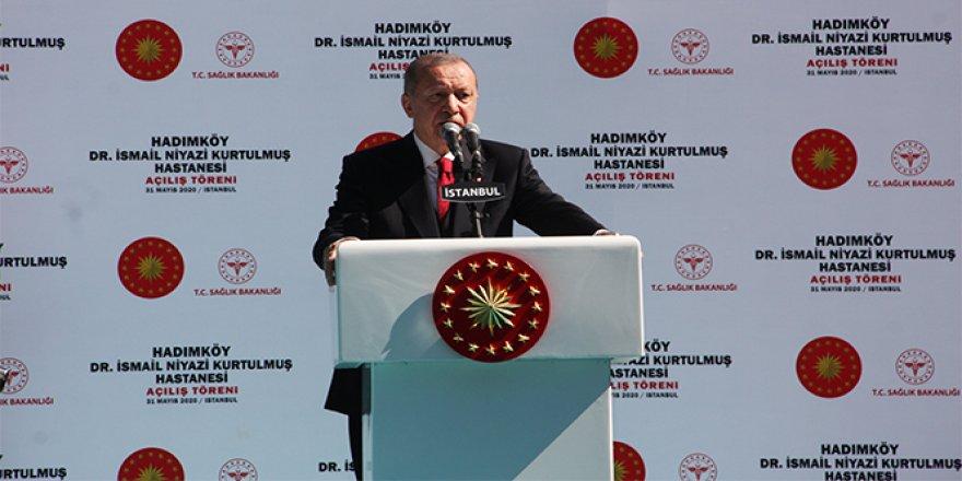 Cumhurbaşkanı Erdoğan: 'Bunlar fethin anlamını bilmezler'