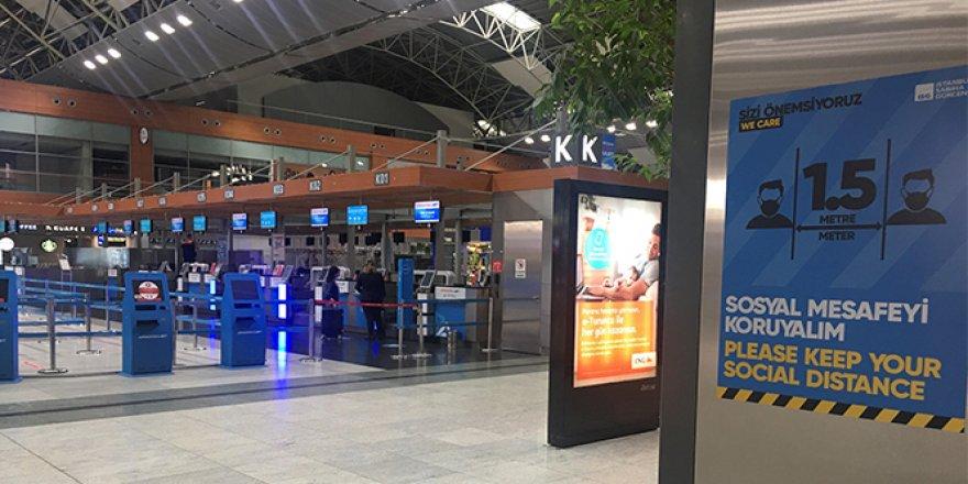 Sabiha Gökçen Havalimanı'ndan ilk uçuş İzmir'e yapıldı