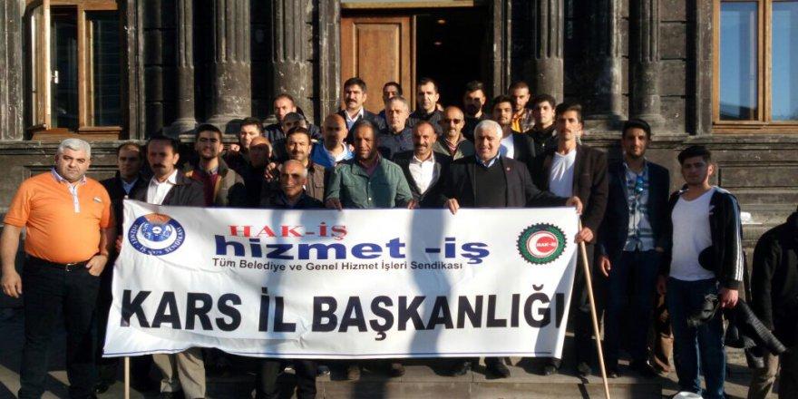 Kars Hak-İş Sendikası'ndan Erzurum'a 1 Mayıs'a 500 Kişilik Çıkarma