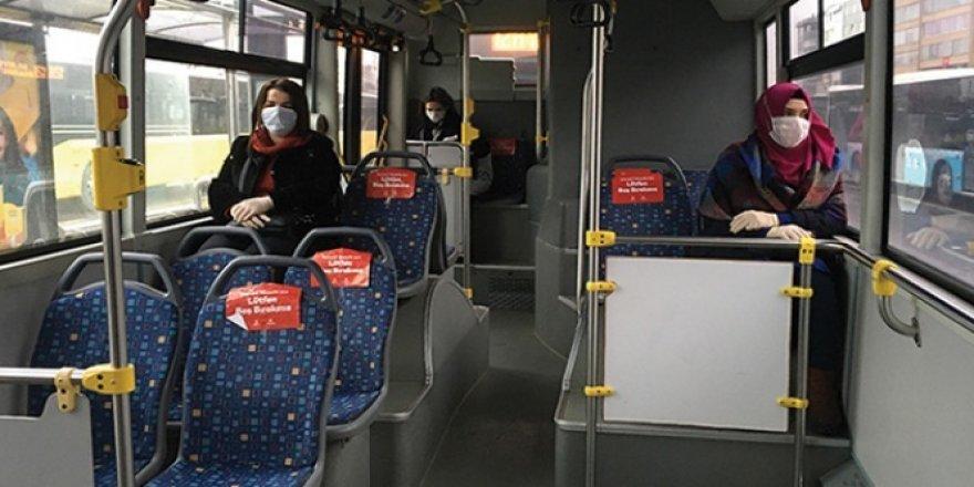 Toplu ulaşımda araçların yüzde 50 kapasite kısıtlaması kaldırıldı
