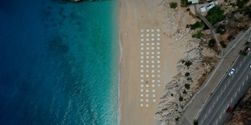 Dünyaca ünlü plajda 'yeni düzen'