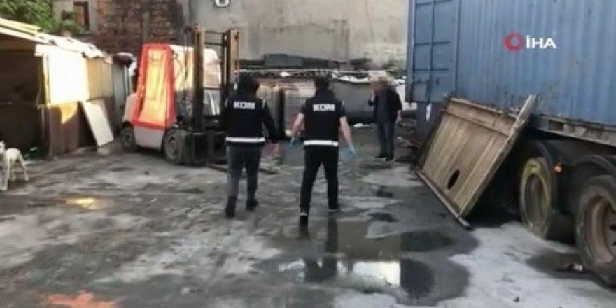 İstanbul'da kaçak akaryakıt operasyonu: 61 ton yakıt ele geçirildi