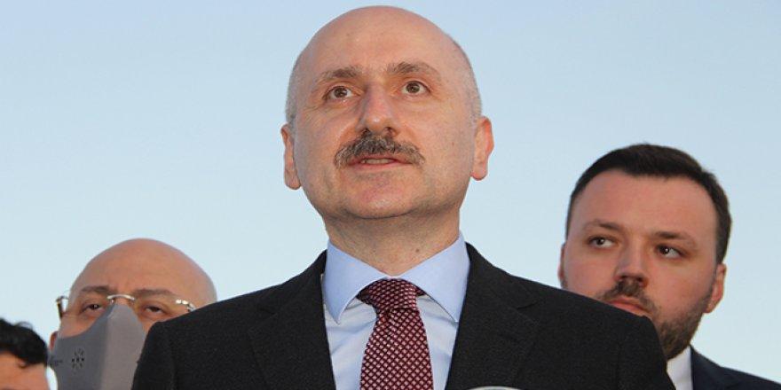 Karaismailoğlu Erzurum Havalimanı'nda incelemelerde bulundu