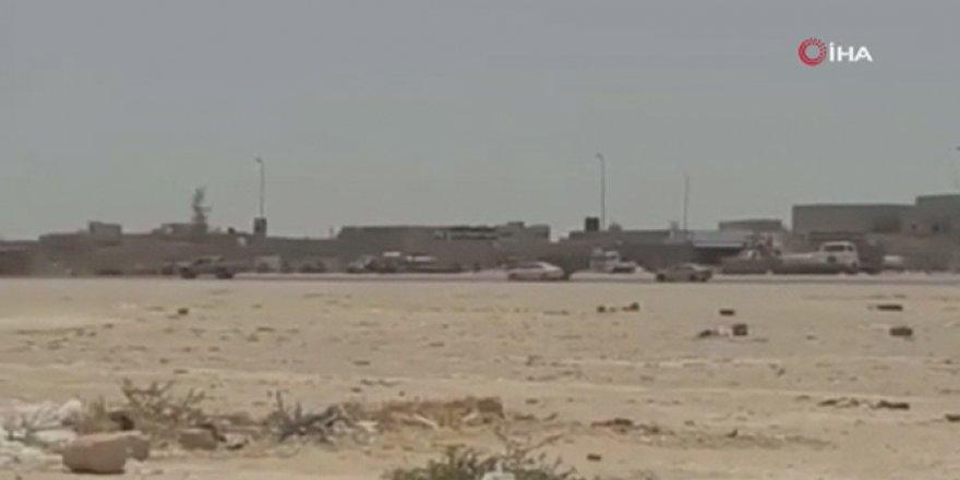Sirte'de bulunan Hafter milisleri kaçtı