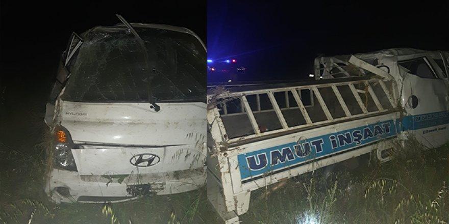 Edirne'de kontrolden çıkan araç devrildi: 1 ölü