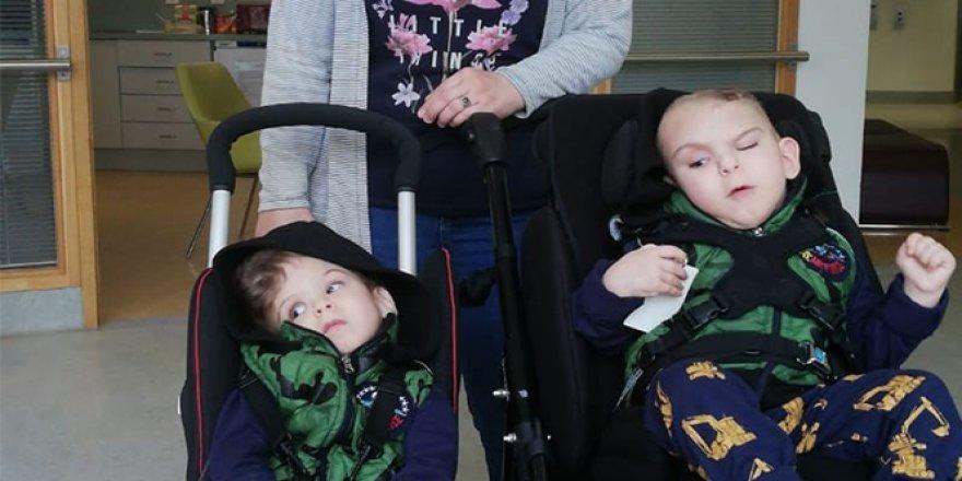 Alanya'da siyam ikizleri mutluluğu