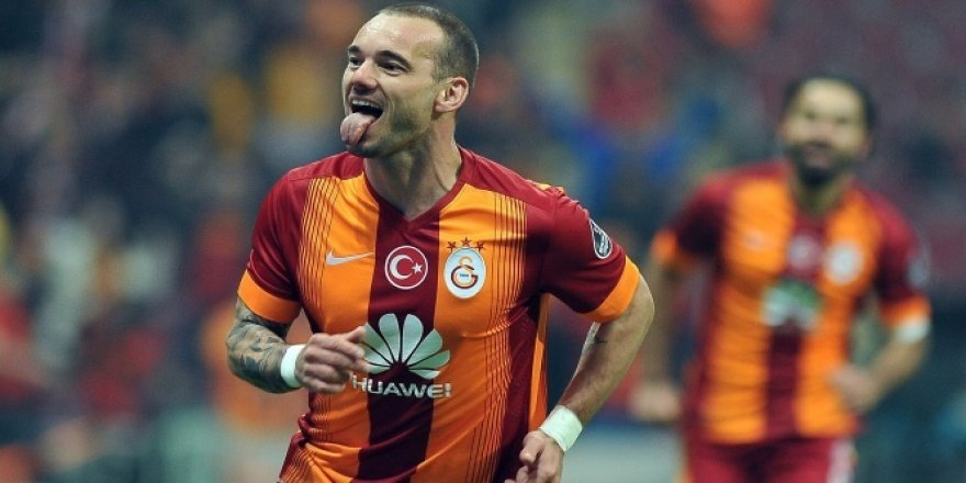 Galatasaray, Wesley Sneijder'in doğum gününü unutmadı