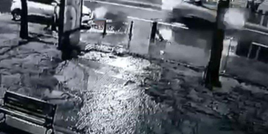 İstanbul'da genç reklamcı Aysun Tümok'un öldüğü feci kaza kamerada