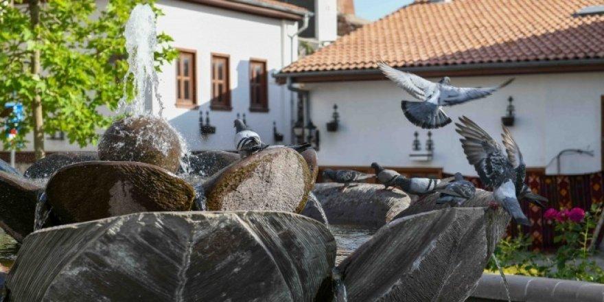 Ankara Kalesi'nde tarih kokan evler gün ışığına çıkıyor