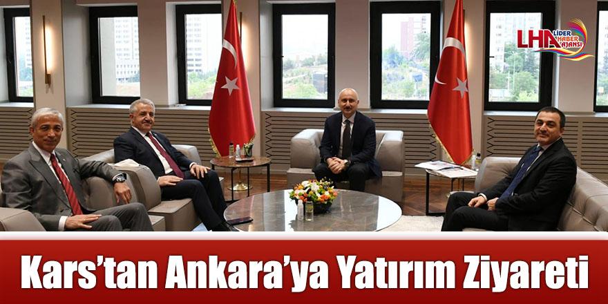 Kars'tan Ankara'ya Yatırım Ziyareti