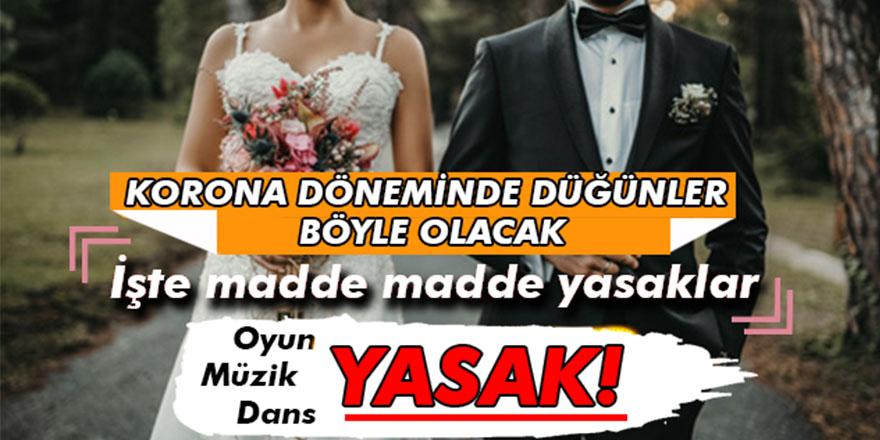 Düğünlerde Oynamak Artık Yasak