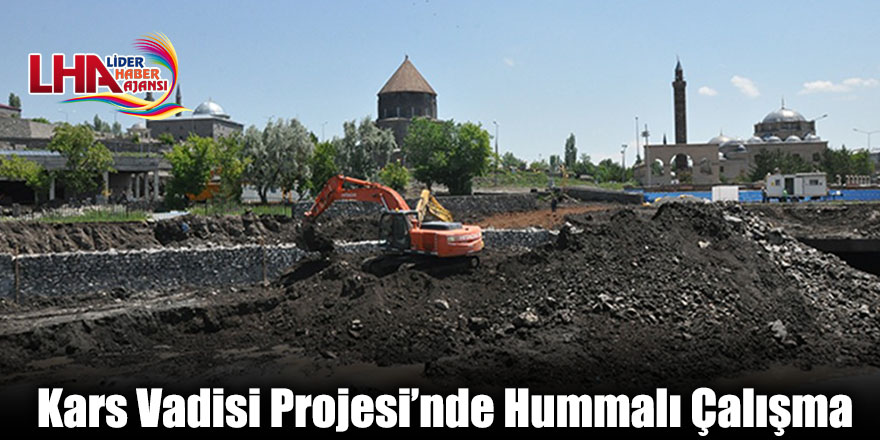 Kars Vadisi Projesi'nde Hummalı Çalışma