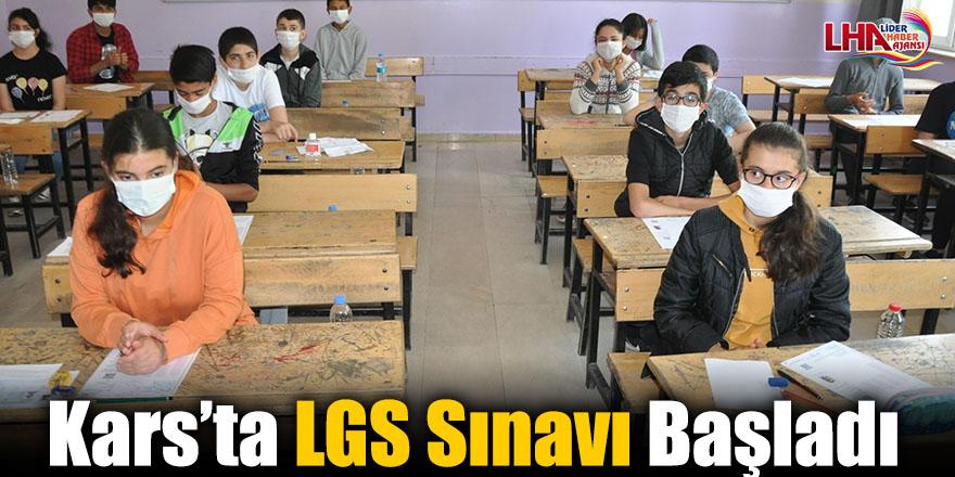 Kars'ta LGS Sınavı Başladı