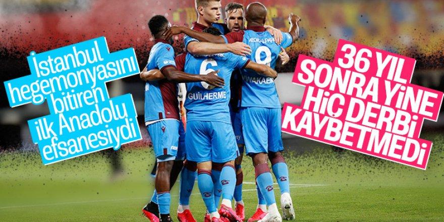 Derbilerin kralı Trabzonspor