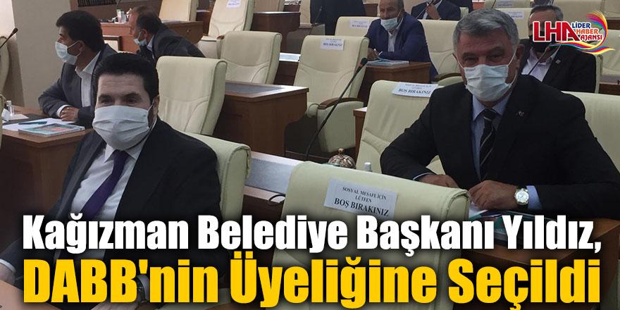 Kağızman Belediye Başkanı Yıldız, DABB'nin Üyeliğine Seçildi