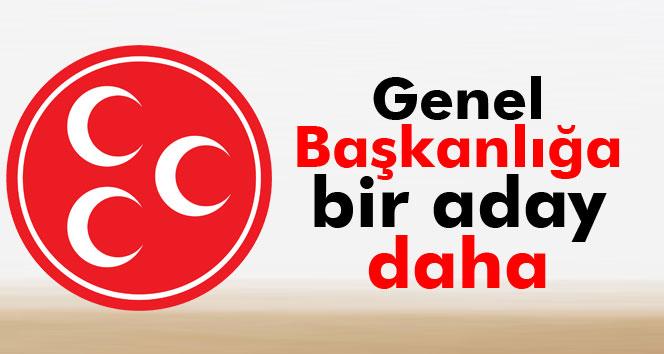 Ümit Özdağ, MHP Genel Başkanlığı için adaylığını açıkladı
