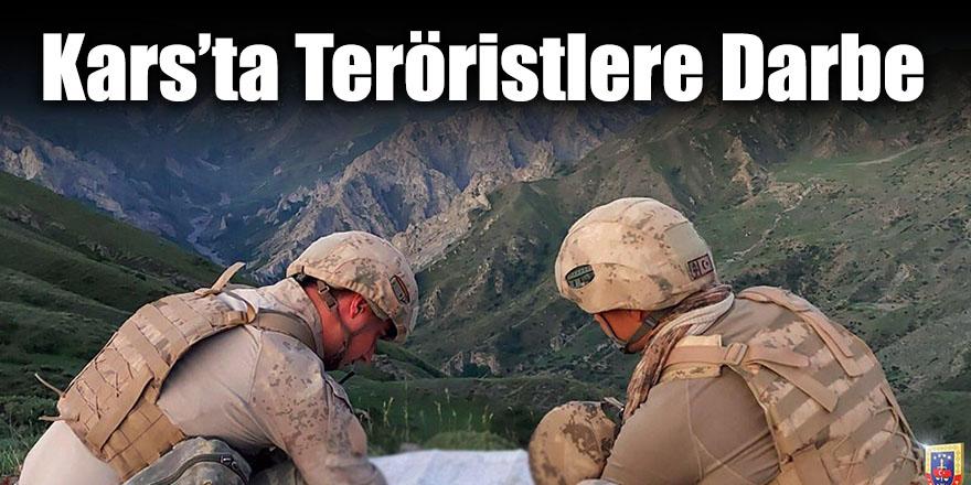 Kars'ta Teröristlere Darbe
