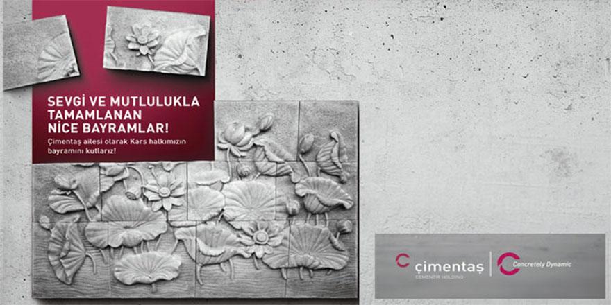 Çimentaş Kars Çimento Fabrikası'nın Kurban Bayramı Mesajı