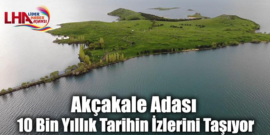 Akçakale Adası 10 Bin Yıllık Tarihin İzlerini Taşıyor