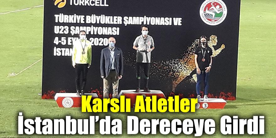 Karslı Atletler İstanbul'da Dereceye Girdi