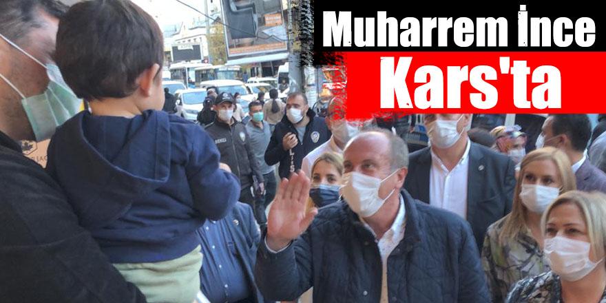 Eski CHP Milletvekili Muharrem İnce Kars'ta