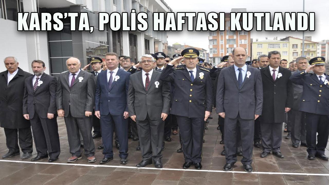 KARS´TA, POLİS HAFTASI KUTLANDI