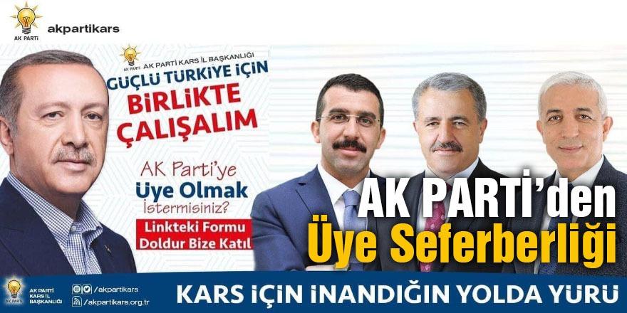 AK PARTİ'DEN ÜYE SEFERBERLİĞİ