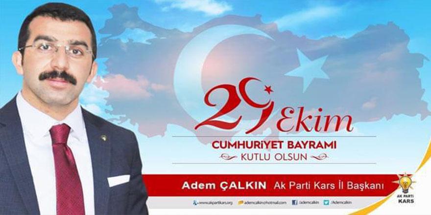 Başkan Çalkın'ın Cumhuriyet Bayramı Mesajı