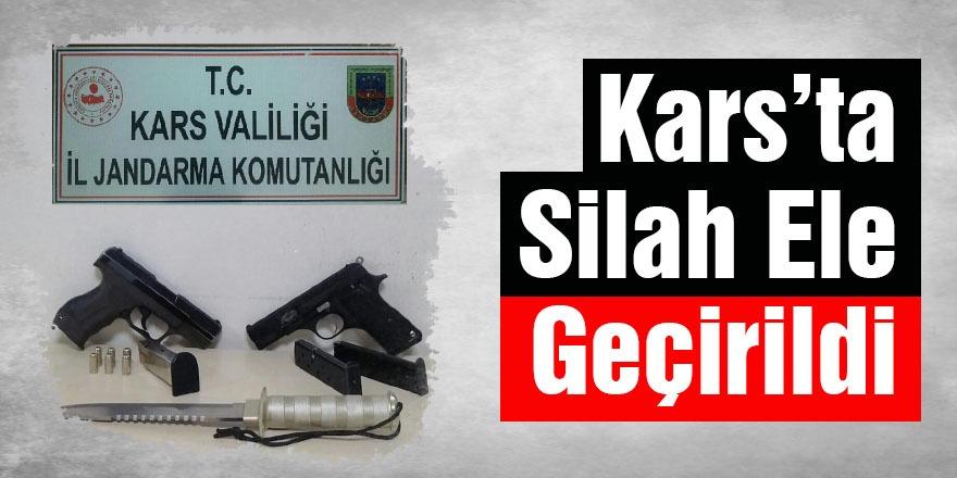 Kars'ta Silah Ele Geçirildi