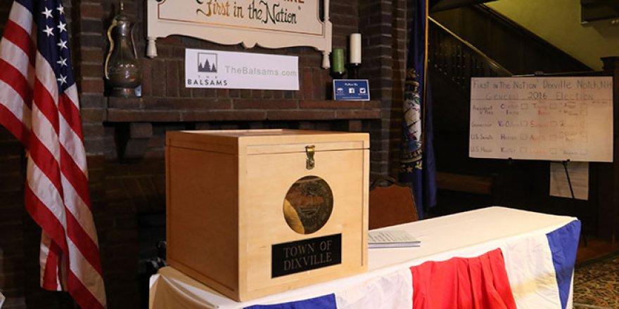 ABD'de sandık başında oy verme işlemi başladı