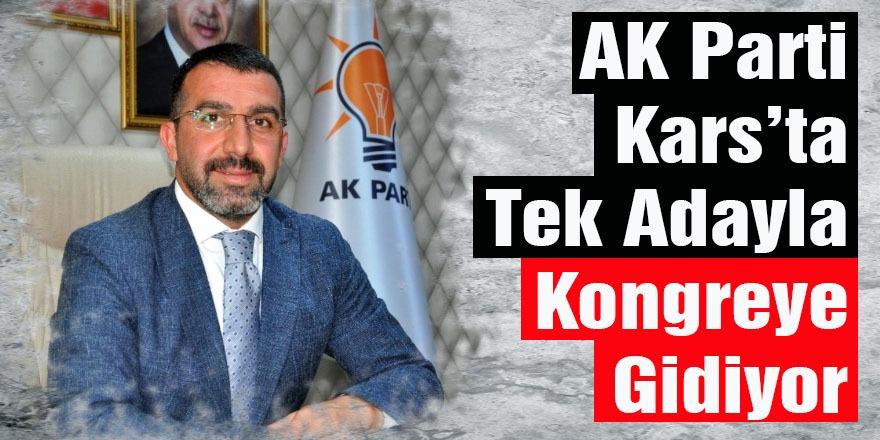 AK Parti Kars'ta Tek Adayla Kongreye Gidiyor