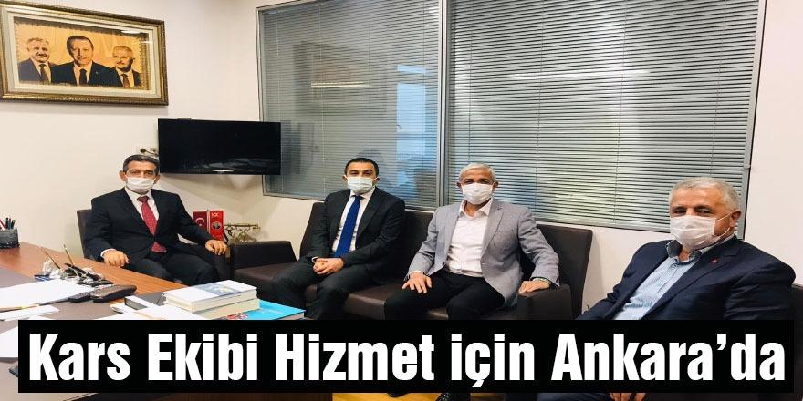 Kars Ekibi Hizmet İçin Ankara'da