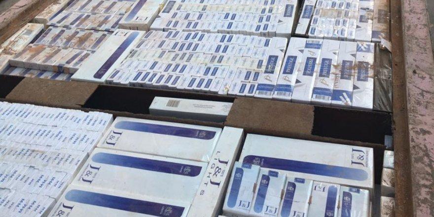 Iğdır'da 24 bin paket kaçak sigara ele geçirildi
