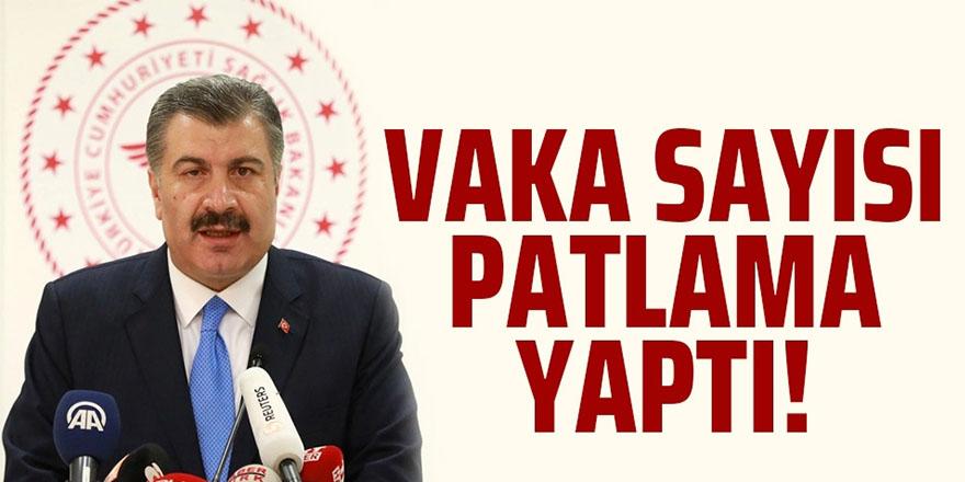 22 Kasım Türkiye'de Koronavirüs Tablosu