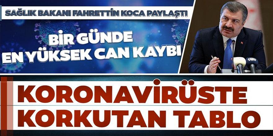 26 Kasım Türkiye'de güncel koronavirüs tablosu