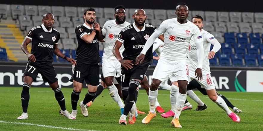 Karabağ 2-3 Sivasspor