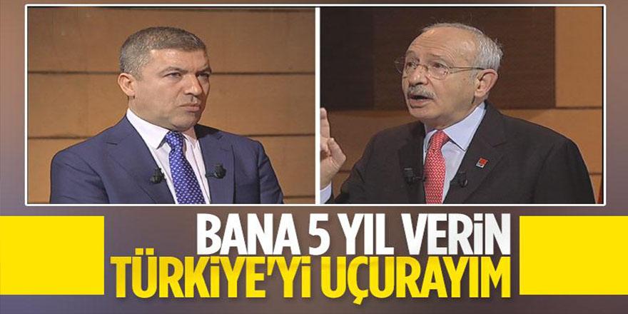 Kemal Kılıçdaroğlu: Türkiye'nin sorunlarını 5 yılda çözeriz