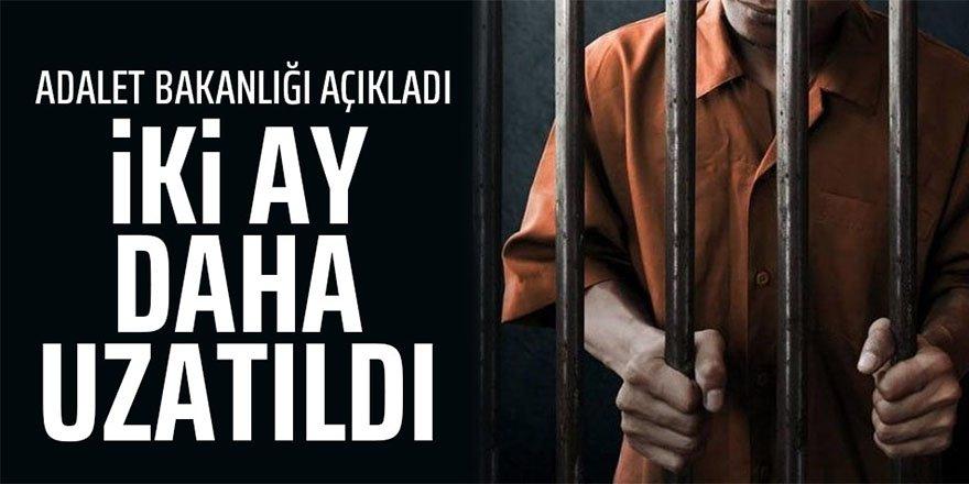 Açık ceza evindeki hükümlülerin (mahkumların) izni uzatıldı