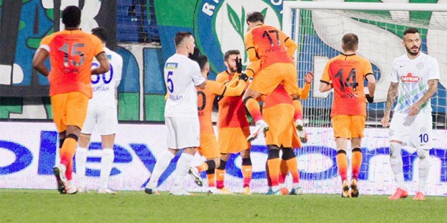 Rizespor 0-4 Galatasaray