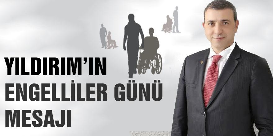 Dr. Erdoğan Yıldırım'ın 3 Aralık Dünya Engelliler Günü Mesajı