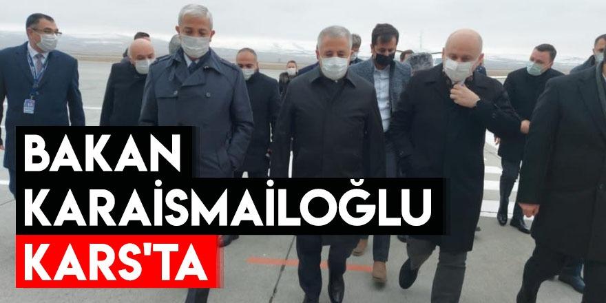 Bakan Karaismailoğlu Kars'ta