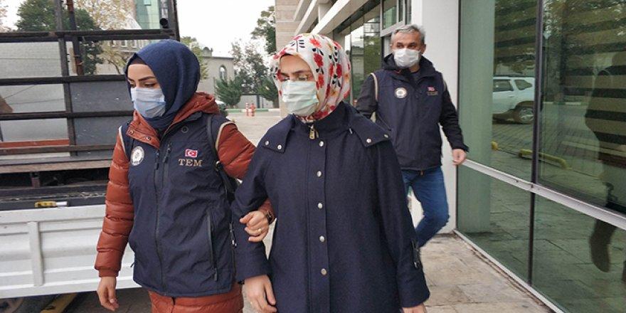 FETÖ'nün mahrem evinde yakalanan kadın öğretmen tutuklandı