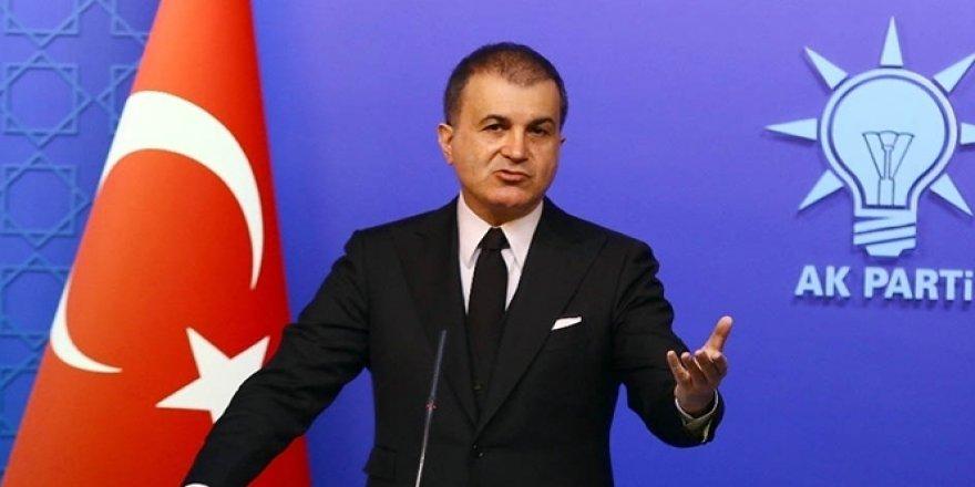 AK Parti Sözcüsü Çelik'ten AB'ye tepki