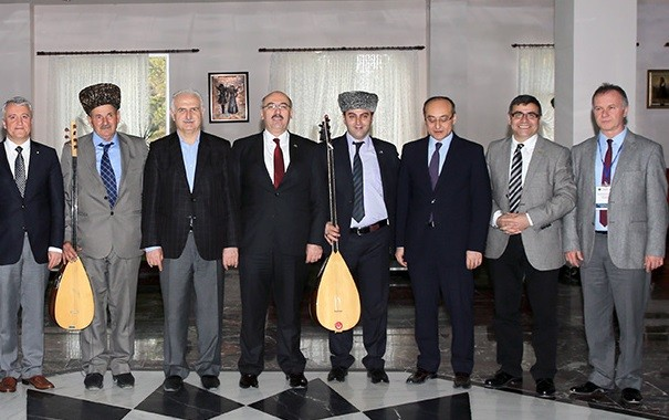 Yüksek Öğretimde Uluslararasılaşma Çalıştayı Ardahan'da Yapıldı