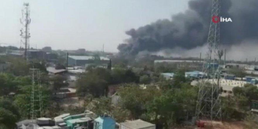 Hindistan'da kimya fabrikasında patlama: 11 yaralı
