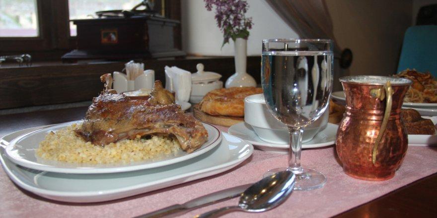 Kars'ın ramazan menüsü: Kaz eti