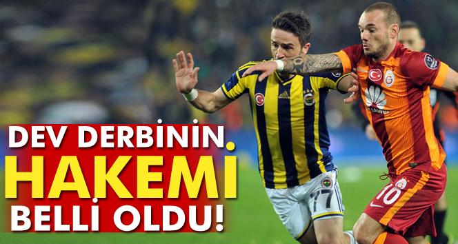Galatasaray- Fenerbahçe derbisinin hakemi belli oldu