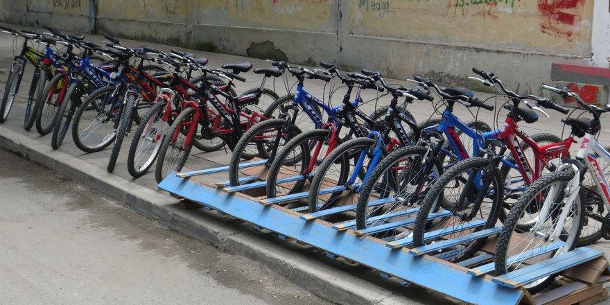 Kars'ta kiralık bisiklet dönemi başladı