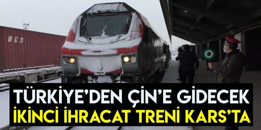 Türkiye'den Çin'e Gidecek İkinci İhracat Treni Kars'ta